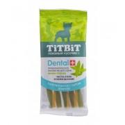 """Палочка """"TiTBiT"""" ДЕНТАЛ+ витая с сыром для собак мини-пород"""
