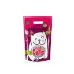 Наполнитель Four Cats силикагелевый с ароматом клубники