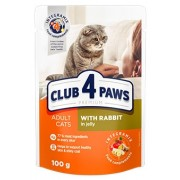 Club 4 Paws Premium Cat Rabbit Jelly