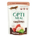 Optimeal Cat Grain Free Wet Veal & Chicken