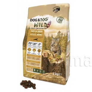 Dog&Dog Wild Puppy свинина, утка, лосось