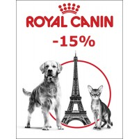 -15% на корма Royal Canin