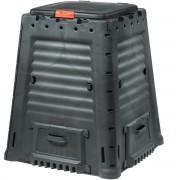 Компостер Mega Composter 650 л, черный