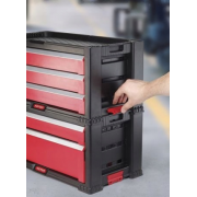 Комод для инструментов Set 5 Drawer Red, 5 ящиков