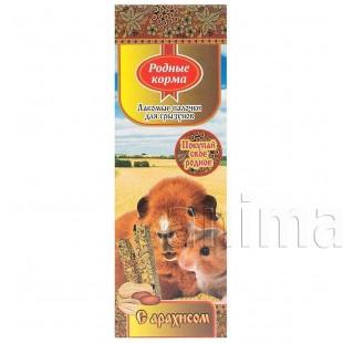 Зерновая палочка Родные корма для грызунов с орехами, 2х45г