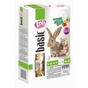 Корм овоще-фруктовый Lolo Pets для хомяка и кролика 2в1