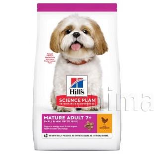 Hills Science Plan Canine Mature Adult Senior Vitality Small & Mini Chicken