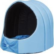 Будка округлой формы с подушкой AMI Play Exclusive, голубая