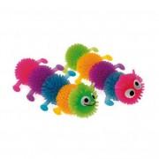 Игрушка Comfy Gelly гусеница разноцветная резина, 6см