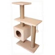 """Игровой комплекс """"Буран"""" Cat House 1,06м (джут)"""