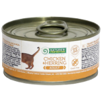 Natures Protection Cat Adult Chicken & Herring