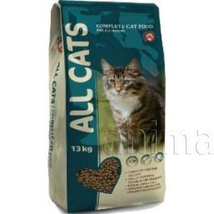 Корм All Cats для взрослых кошек