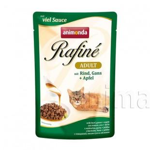 Animonda Rafin Adult Cat (говядина, гусь, яблоко)