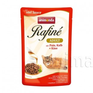 Animonda Rafin Adult Cat (индейка, телятина, сыр)