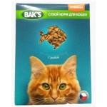 Baks сухой корм для кошек с рыбой