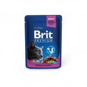 Brit Premium Cat Pouches with Chicken & Turkey