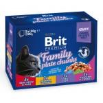 Brit Premium Cat Family Plate Chunks
