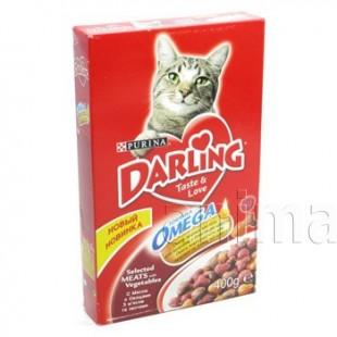Darling для кошек с мясом по-домашнему и овощами
