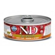 Farmina N&D Grain Free Quinoa Cat Herring & Coconut wet food