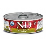 Farmina N&D Grain Free Quinoa Cat Urinary wet food