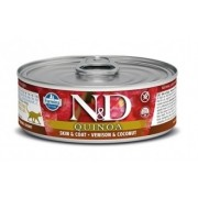 Farmina N&D Grain Free Quinoa Cat Venison & Coconut wet food