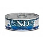 Farmina N&D Grain Free Ocean Cat Tuna & Shrimp wet food