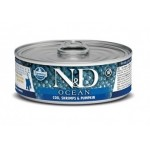 Farmina N&D Grain Free Ocean Cat Cod, Shrimp & Pumpkin Kitten wet food