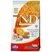 Farmina N&D Low Grain Cat Codfish & Orange