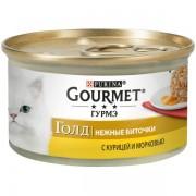 Gourmet Gold Нежные биточки, курица с морковью