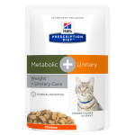 Hills Prescription Diet Feline Metabolic + Urinary (влажный)
