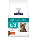 Hills Prescription Diet t/d Dental Care для кошек (курица)
