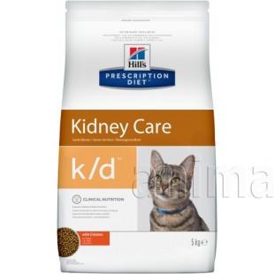 Hills Prescription Diet k/d Kidney Care для кошек (курица)