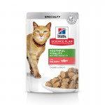 Hills Science Plan Feline Adult 7+ Youthful Vitality with Salmon (с лососем)