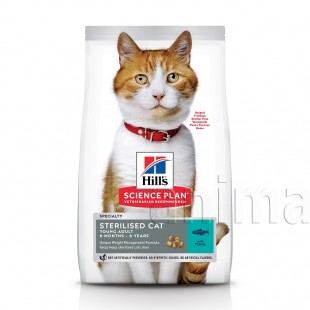 Hills Sterilised Cat Young Adult Tuna (Тунец)