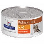 Hills Prescription Diet k/d Feline (Фарш с курицей)