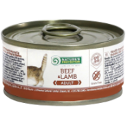 Natures Protection Cat Adult Beef & Lamb