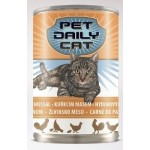 Консервы для кошек Pet Daily Cat Poultry