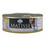 Matisse Mousse Sardine wet food