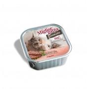Miglior Gatto Sterilized Salmon and Rice (паштет с лососем и рисом)
