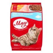 МЯУ! корм для кошек с карасем