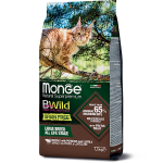 Monge BWild Cat Grain Free Large Byffalo with Potatoes and Lentils