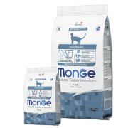 Monge Superpremium Cat Monoprotein Sterilised Trout