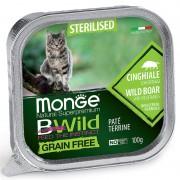 Monge Cat BWild Adult Sterilised Boar/Vegetables