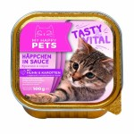 My happy Pets для кошек (кусочки с курицей и морковью в соусе)