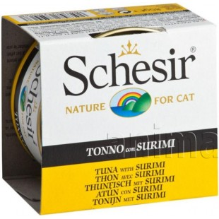 Schesir Tuna with Surimi (Тунец с Сурими в желе)