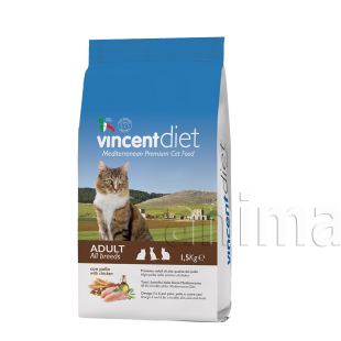 Vincent Diet Cat Adult Chicken