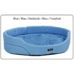 Лежак овальный с подушкой AMI Play Exclusive голубой