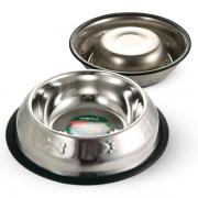 Миска Triol металлическая с тиснением на резинке