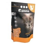 Наполнитель для кошачьих туалетов Gamma древесный, крупные гранулы