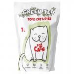 Наполнитель для кошачьих туалетов Tofu Green Tea